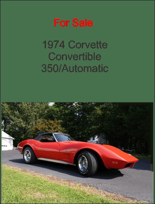 Corvette Ad