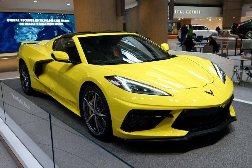 New Mid Engine Corvette
