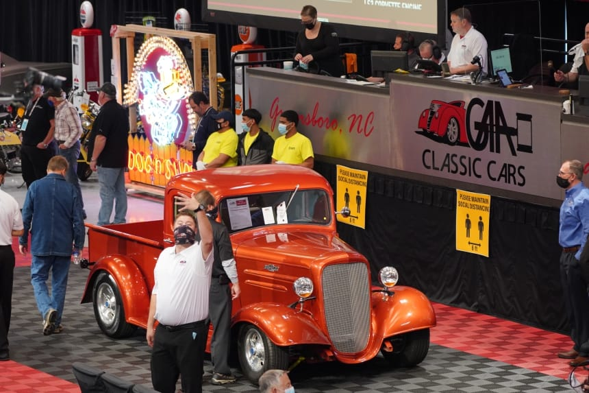 GAA Classic Cars Auction Spring  2021
