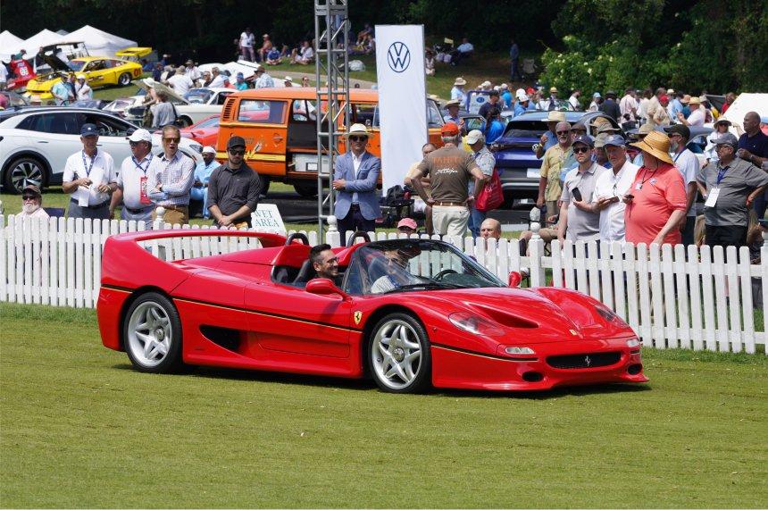 1995 Ferrari F50 – Best Sound on the Field, Amelia Island Concours