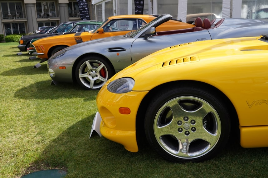 Auction Cars at Bonhams and RM Sotheby's, Amelia Island