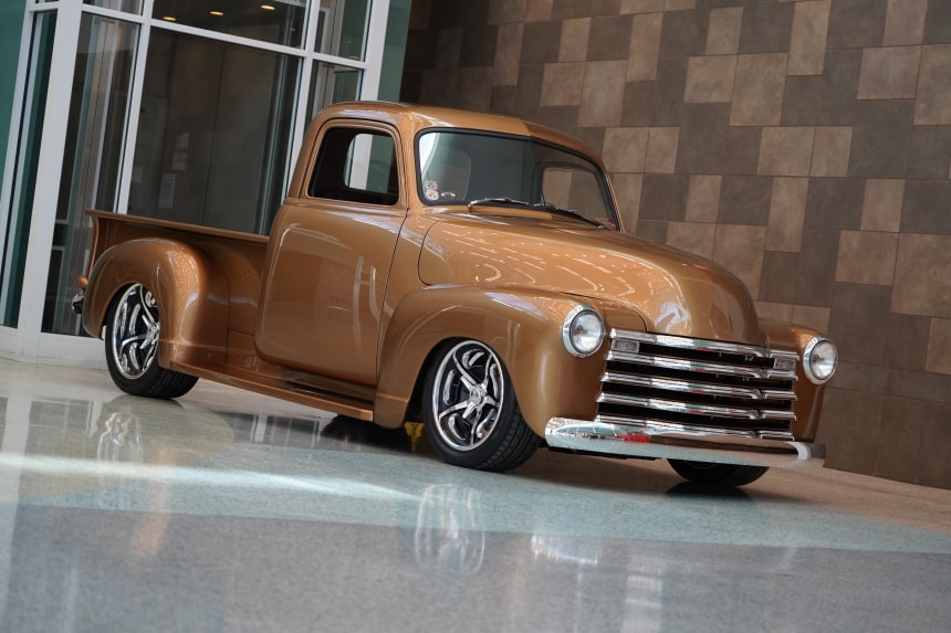 1950 Chevy Pickup: Builder of the Year at NSRA Nationals, Louisville